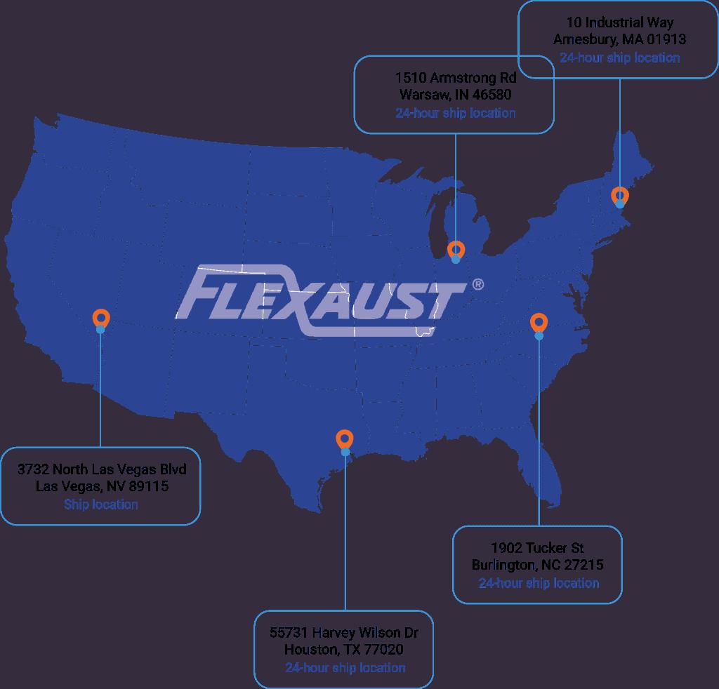 24 hour map flexaust
